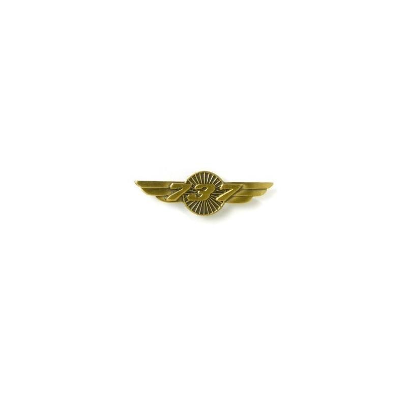 737 Wings Pin