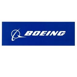 Calcomania Boeing Blue signature