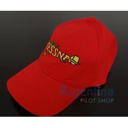 gorra cessna rojo avion