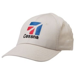 gorra cessna blanca