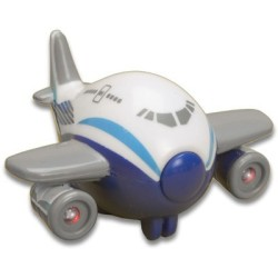 Imán Avión con luz y ruido