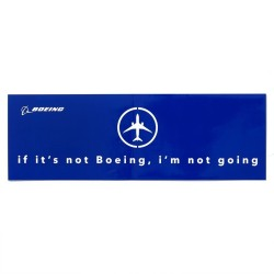Calcomania Boeing Im not Going