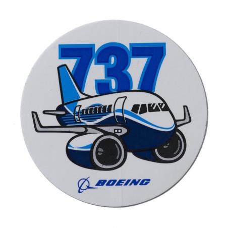 Calcomania 737