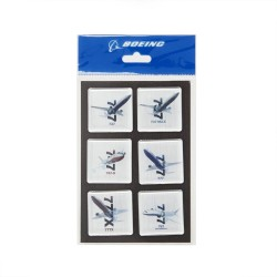 Set Iman Commercial Airplanes X-Ray Graphic